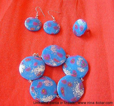 Unikaten nakit - Nadeni in pojdi - kolekcija Modri svod
