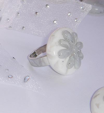 Unikaten poročni nakit - prstan Kolekcija Roža