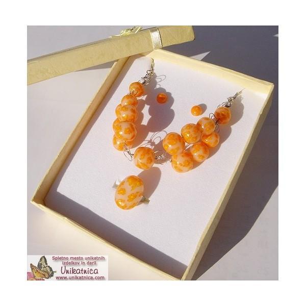 Ustvarjalna delavnica - izdelaj si svoj unikatni nakit v tehniki mille fiori
