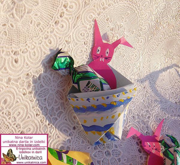 Ideje za ustvarjanje - Velika noč 2013 - velikonočni zajčki