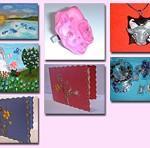 Unikatna poslovna darila - unikatne slike, unikaten nakit, unikatne voščilnice.