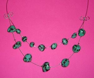 Unikatna ogrlica iz kolekcije Turkizne sanje