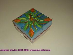 Unikatna darilna škatlica