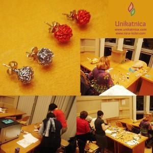 Ustvarjalne delavnice - nakit iz žice - Novo mesto 25. 3. 2014