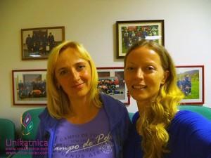 Fotoreportaža iz ustvarjalne delavnice - Zagradec 24. 5. 2014 - Ga. Irena Zaletel (navašilevi) in moja malenkost :)