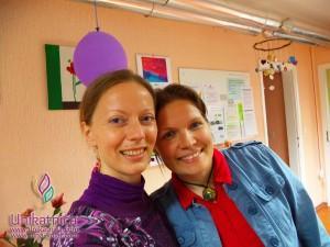 Ustvarjalne delavnice - nakit iz žice ŠENT Ajdovščina - 13. 5. 2014 - Jasmina Bolterstein in jaz