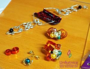 Ustvarjalne delavnice - nakit iz žice ŠENT Ajdovščina 13. 5. 2014 - vrhunski izdelki ustvarjalk