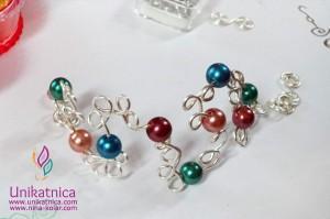 Ustvarjalne delavnice - izdelava nakita iz žice - Ajdovščina 13. 5. 2014