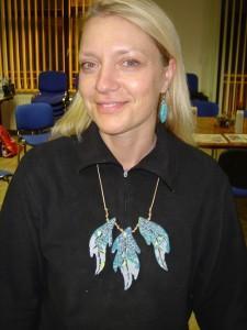 Ustvarjalna delavnica - mozaični nakit Orle, 30. 11. 2014