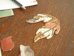 Ustvarjalna delavnica mikromozaični nakit, Orle, 30. 11. 2014
