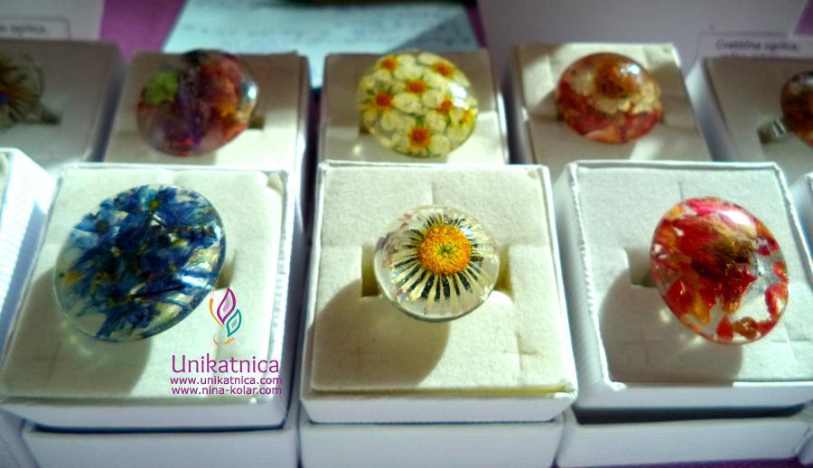 Cvetlični nakit - sveži izdleki