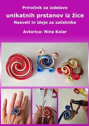 E-knjiga: Priročnik za izdelavo unikatnih prstanov iz žice - Nasveti in ideje za začetnike