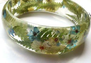 Vilinsko gozdni cvetlični nakit