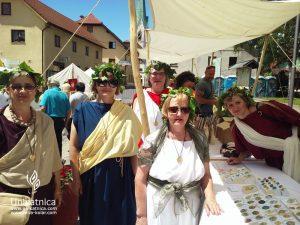 Dan Keltov in Rimljanov - rimljanke