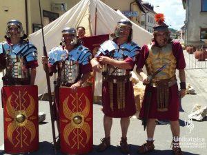 Dan Keltov in Rimljanov - vojščaki