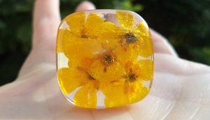 Cvetlični nakit - jesenska kolekcija