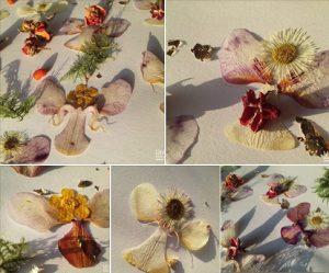 Cvetlični nakit - zimska kolekcija z motivi angelov in vil