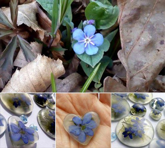 Sveže - pomladna kolekcija cvetličnega nakita na voljo že konec marca 2017