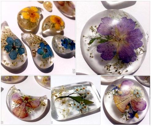 Sveža poletno jesenska kolekcija cvetličnega nakita - novi izdelki