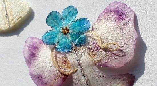 Angelsko vilinske cvetlične ogrlice v obdobju januarske polne Lune
