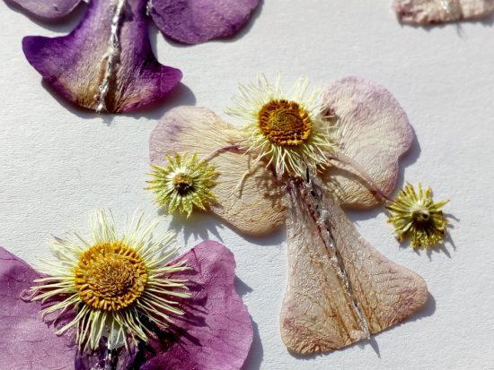 Angelsko vilinska cvetlična ogrlica 2
