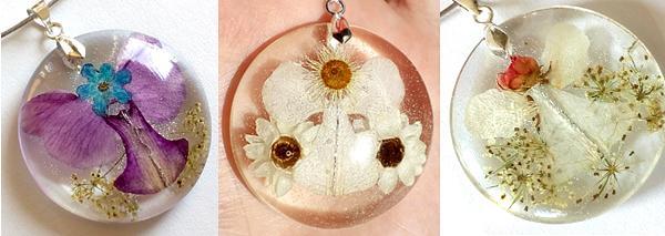 Angelsko vilinske cvetlične ogrlice