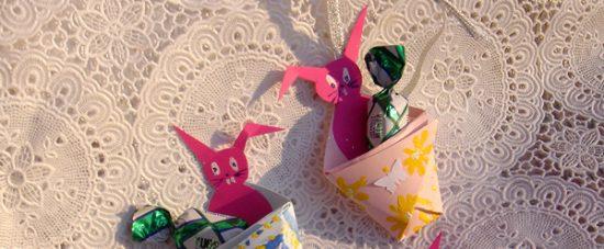 Velikonočni zajčki v vrečki - e-novičke